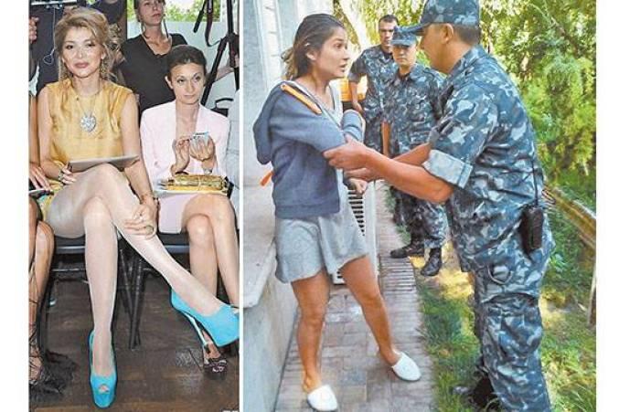 Гульнара Каримова оскорбилась вооруженным конвоем