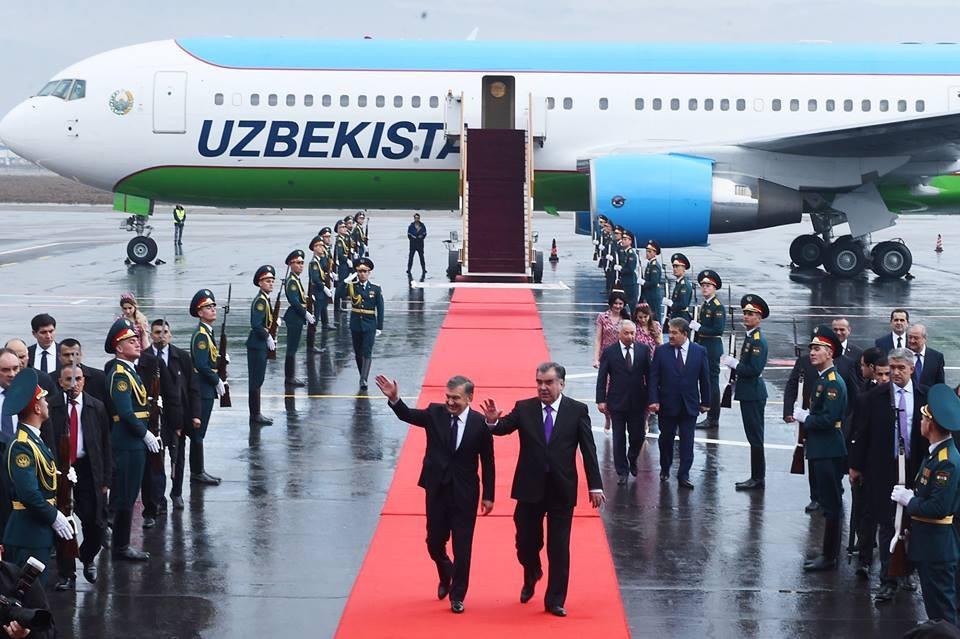 Перезагрузка: Ташкент и Душанбе подписали 27 документов