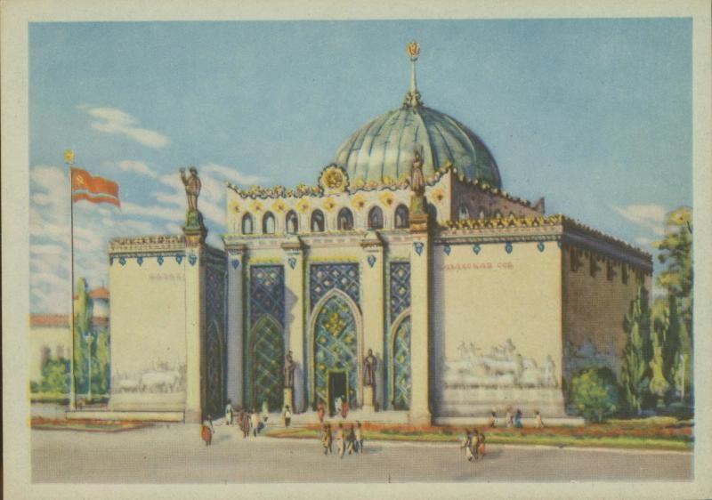 Казахи возрождают свой павильон на ВДНХ