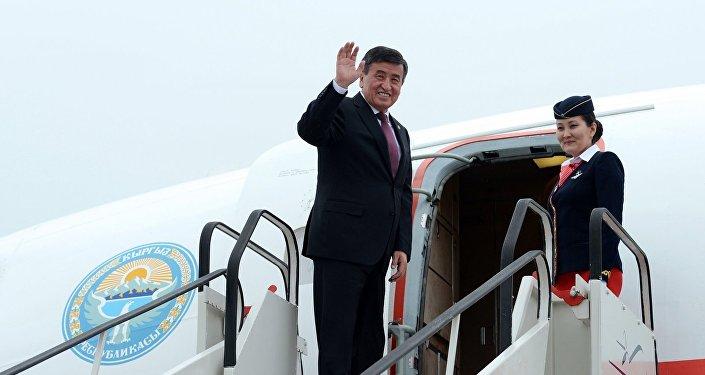 Президента Киргизии призвали купить новый самолет