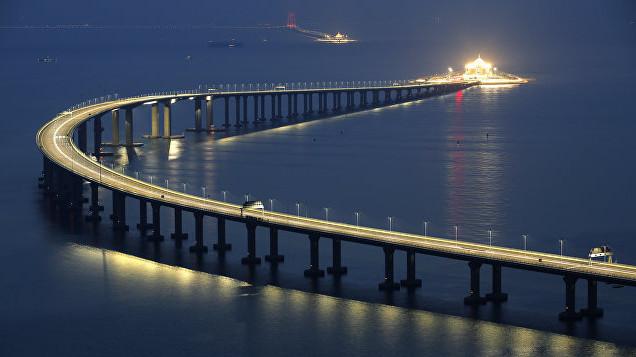 Китайцы побили рекорды Крымского моста
