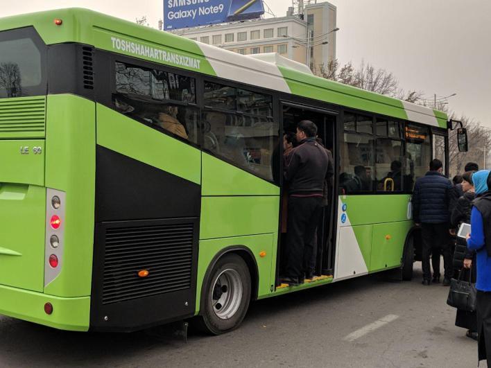 В Ташкент прибывают 62 новеньких автобуса