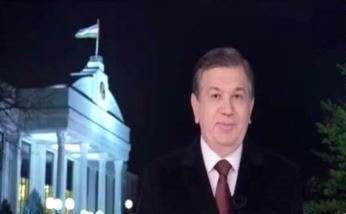 Шавкат Мирзиёев пожелал счастья в Новом году