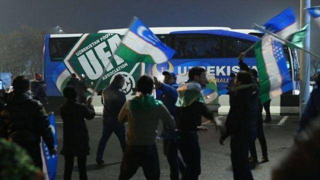 В Ташкенте прошли проводы сборной на Кубок Азии