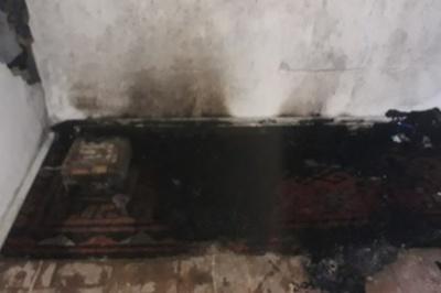В Заамине младенец в бешике сгорел из-за обогревателя