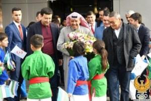 Гафур Рахимов встретил президента Олимпийского Совета Азии