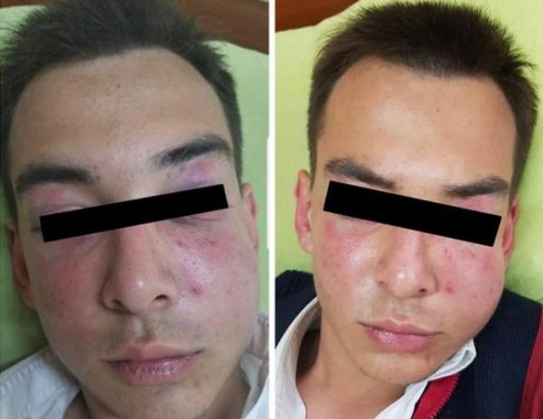Драка ташкентских школьников под прицелом милиции