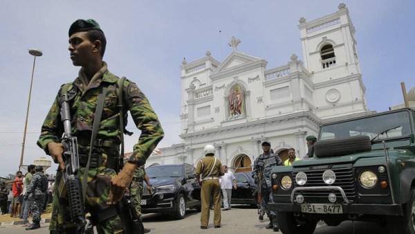 Новый взрыв у церкви на Шри-Ланке