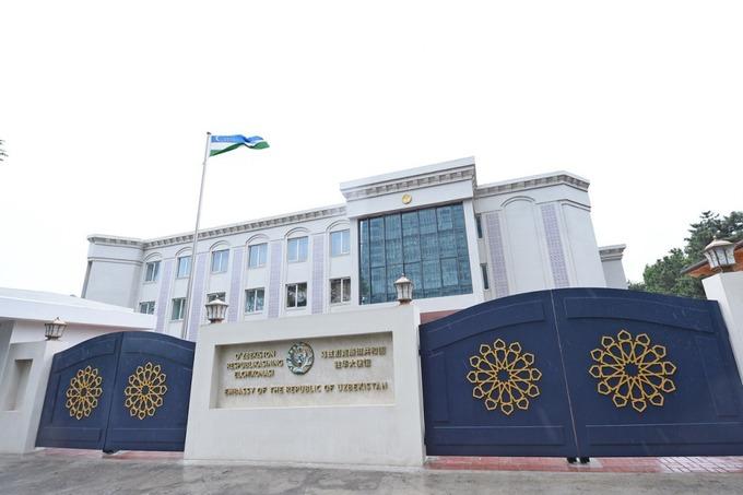 Как смотрится новое узбекское посольство в Пекине