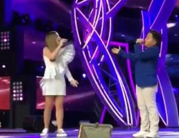 Дочь Алсу спелась с Ержан Максимом