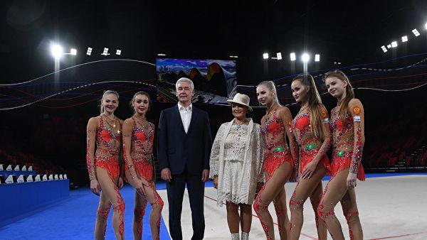 В Лужниках открыли Дворец гимнастики имени Ирины Винер