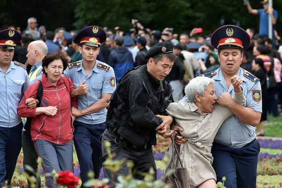 Заграница срывает президентские выборы в Казахстане