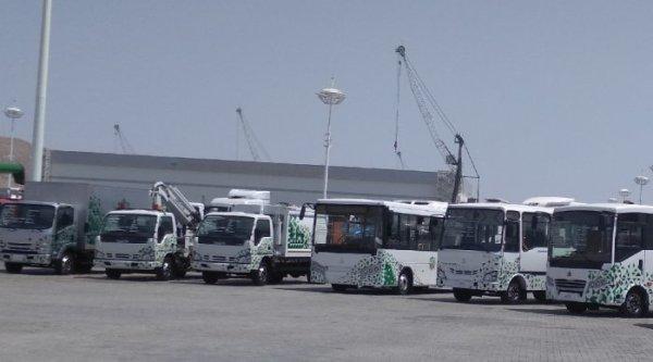 Нефтяникам Туркмении закупают 800 автобусов «Исузу» от СамАвто