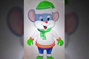 Мэрия Ахшабада утвердила дизайн новогодней крысы
