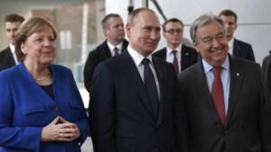 Путин, Меркель и генсек ООН поговорили по-русски