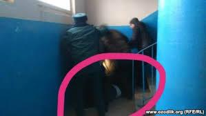 Участкового в Ташкенте избили его же рацией