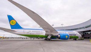 Uzbekistan Airways покупает в марте еще один Dreamliner