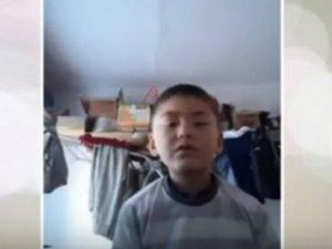 8-летний школьник просит спасти мать от хокимиятчиков в Джизаке