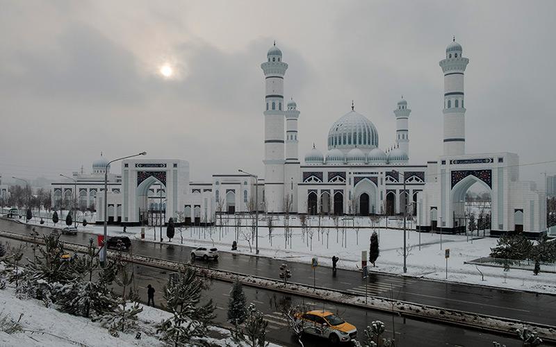 В Душанбе сорвалось открытие  мечети за 0 миллионов