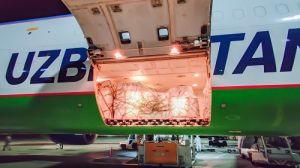 Четвертая партия «гуманитарки» от Узбекистана доставлена в аэропорт Внуково