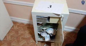 Сейф с деньгами вынесли мародеры из предприятия в Ташкенте
