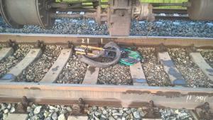 Мальчик на велосипеде погиб под поездом в Фергане