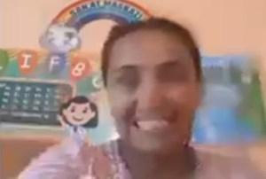У педагога случился нервный срыв во время дистанционного занятия в Наманганской области