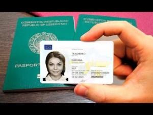 Узбекистанцам биометрические паспорта поменяют на ID-карты