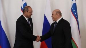 Михаил Мишустин зазывает Узбекистан в ЕАЭС