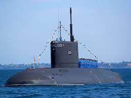 Россияне испытывают новую подводную лодку «Магадан»