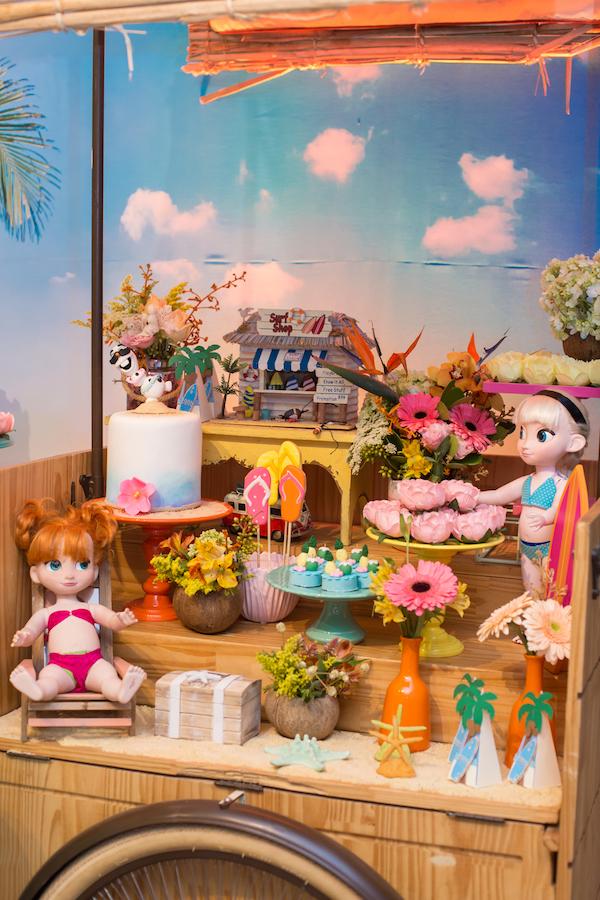 decoraao festa infantil havaí