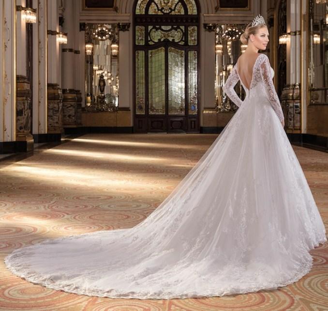 Vestidos de noiva 2020 longos