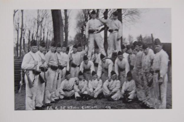 4e compagnie van het 3e regiment Artllerie 1910