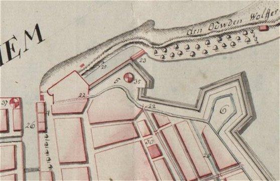 Krt 1776 frgm bastion 4 + bolwerk 6