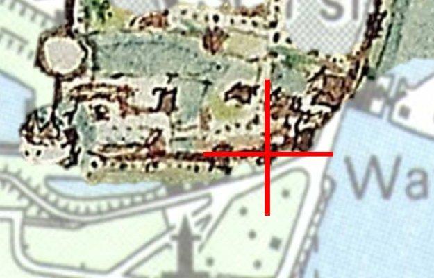 Locatie muurtoren