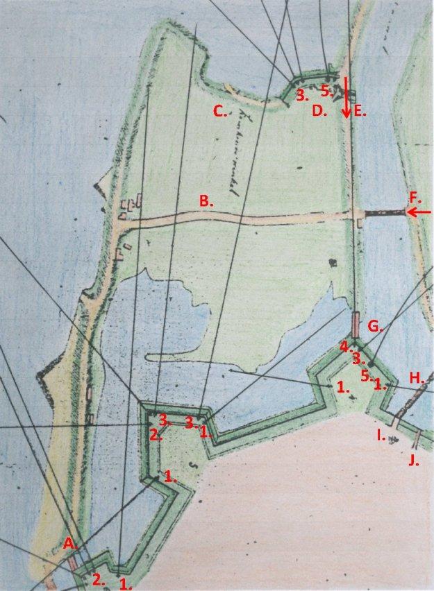 Plan bew Gorinchem 1831 det 1 ingekl bew