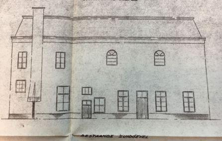 Zuidgevel bakkerij (1950)