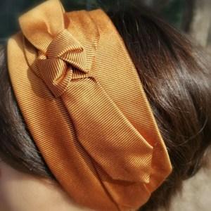 Fascia per capelli Headband Mandarine