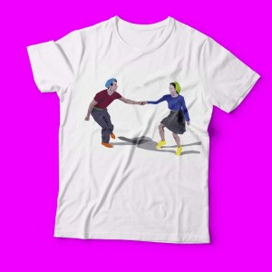 T-shirt swing Lindy Hoppers