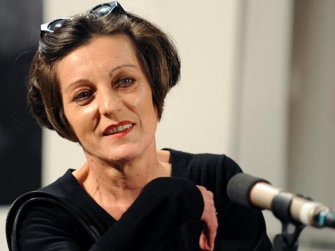 Немецкая поэтесса и писательница Герта Мюллер