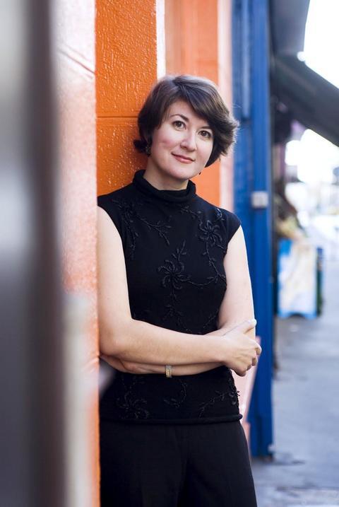 Российская писательница Ольга Грушина