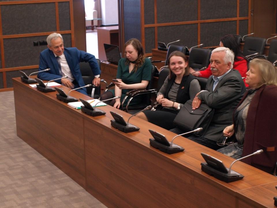 О наставничестве поговорили в Общественной палате Тюменской области