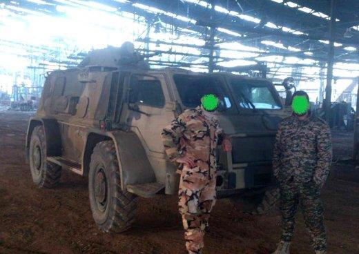 """vodnik1 """"Водник"""" для пустыни. Российские бронеавтомобили в Сирии"""