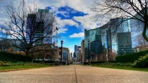 Toronto Sky City Glass Buildings