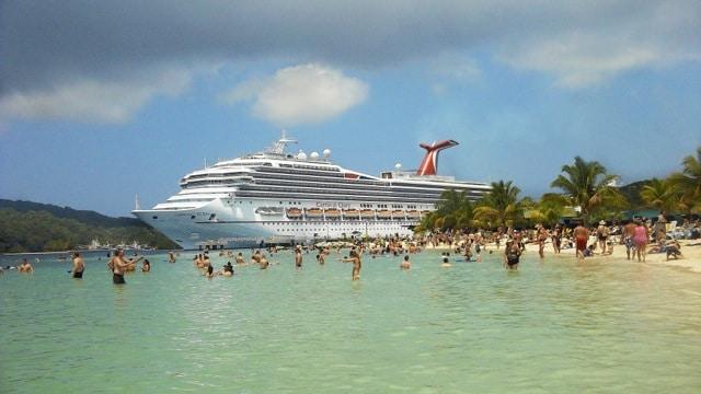 Carnival Valor Cruise Honduras