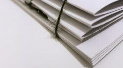 white folders