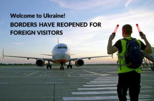 ukraine reopened borders for foreigners
