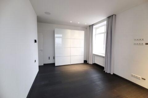 bedroom with white wardrobe