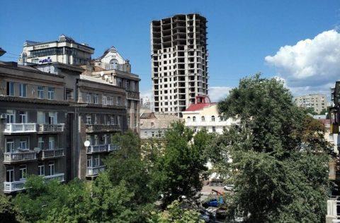 nice view from balcony Pyrohova 5