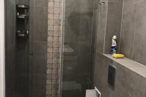grey shower